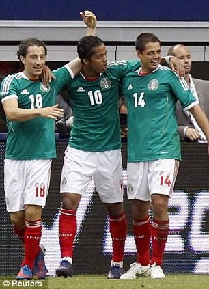 Meksikalı futbolçudan Braziliyaya möhtəşəm qol –<font color=red> Video</font>