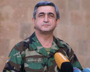 <b>Sarkisyan Azərbaycanı hədələdi</b>