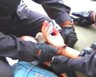 Bakıda polisi öldürən həbs edildi