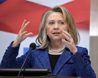 <b>Klinton ermənilərə cavab verib</b>