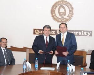 Qafqaz Universiteti ilə Türkiyənin Hitit Universiteti arasında memorandum imzalanıb