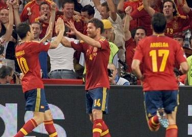 <b>İspaniyanın Xabi Alonso qələbəsi</b>