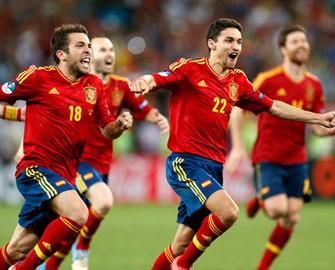<b>İspaniya finala belə çıxdı - <font color=red>Video</b></font>
