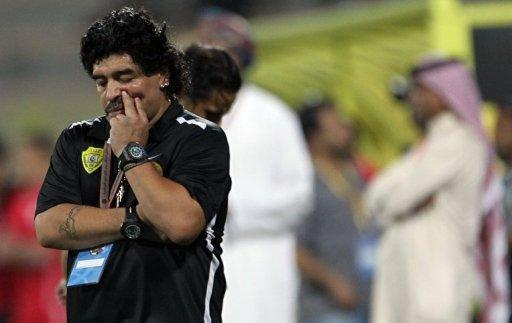 Maradona Dubaydan qovuldu
