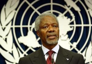 Kofi Annan şoka düşüb