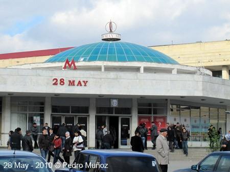 """""""28 May"""" stansiyasının təmiri bitmək üzrədir"""