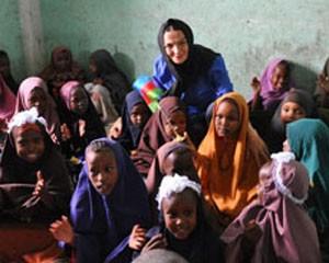 <b>Qənirə Paşayeva Somalidən görüntülər paylaşdı - <font color=red>Fotolar</b></font>