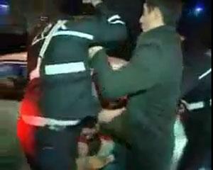 <b>İki azərbaycanlı polisi xəstəxanalıq etdi </b>