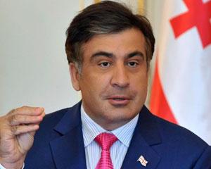 """<b>Saakaşviliyə """"Siz ermənisiniz?"""" sualı</b>"""