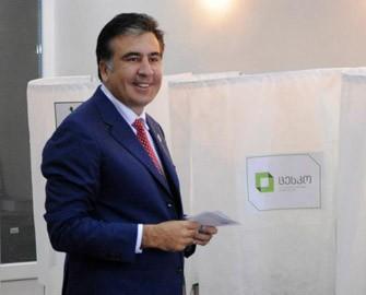 <b>Saakaşvili müxalifətin qalib gəldiyini etiraf etdi</b>