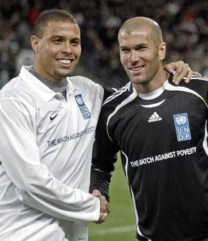 Ronaldo və Zidan yenidən bir arada