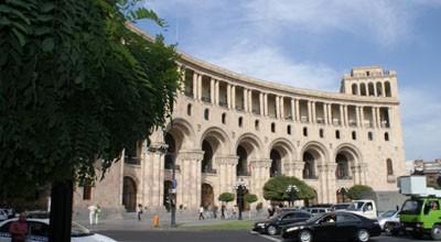 Ermənistan Xarici İşlər Nazirliyinin binası satıldı