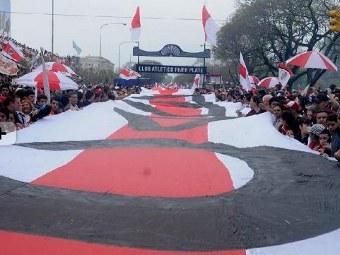 8 km uzunluğunda bayraq hazırlandı