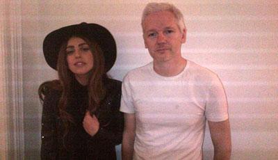 Lady Gaga Assancla birgə