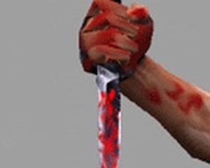 <b>Özündən 13 yaş kiçik arvadını bıçaqladı</b>