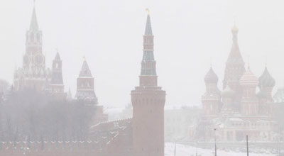 Moskvaya ilk qar yağdı