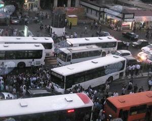 <b>Bakıda sərnişin avtobusu yanıb: <font color=red>Ölən və yaralananlar var</b></font>