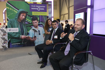 """Azercell-in ən son yenilikləri """"BakuTel-2012""""də"""
