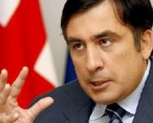 <b>Saakaşvilinin işığını da kəsdilər</b>
