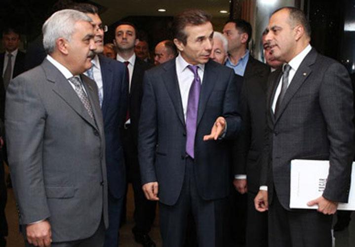 Rövnəq Abdullayev İvanişvili ilə bir arada- <font color=red> Foto+Video</font>