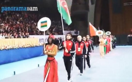 Ermənistanla Azərbaycan arasında bayraq qalmaqalı -<font color=red> Video</font>