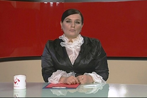 Elza Seyidcahan TV aparıcı oldu - <font color=red>Foto+Video</font>