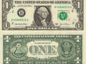 ABŞ kağız 1 dollarlıqları ləğv edir