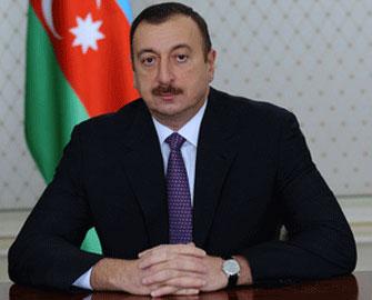 İlham Əliyev Federasiya prezidentini qəbul edib