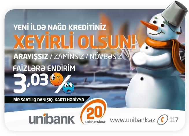 Unibankdan yeni kredit