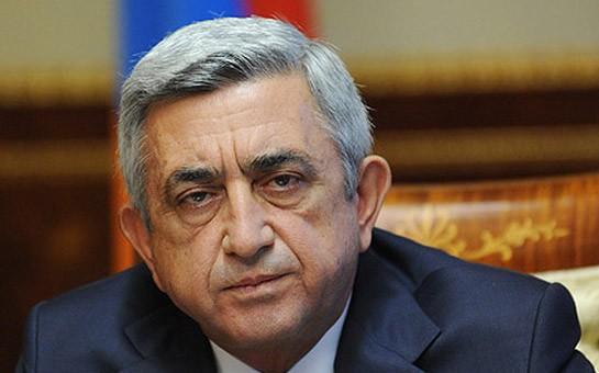 Sarkisyan prezidentliyə rəsmən namizəd oldu