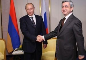 Putin bu gün Sarkisyanla görüşəcək
