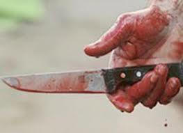 Azərbaycanda polis qız üstündə bıçaqlandı