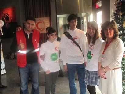 Qızıl Ayparadan humanitar aksiya