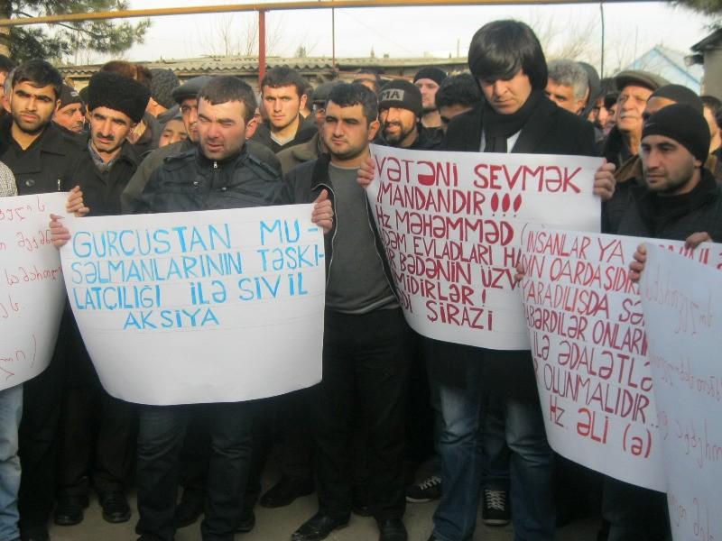 Gürcüstanda şeyxin istefası tələb olunur