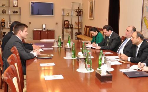Elmar Məmmədyarov BP-nin region üzrə prezidentini qəbul edib
