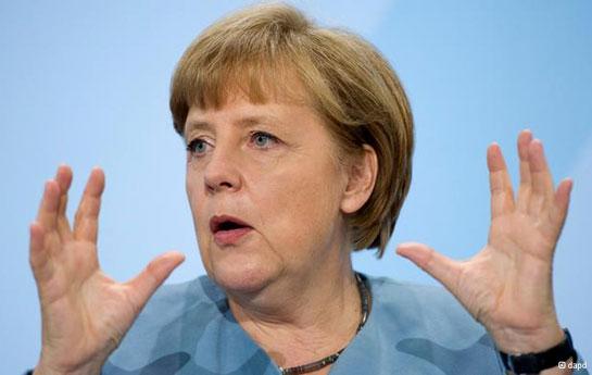Merkel Avropa siyasətçilərini şoka saldı -<font color=red> Fotolar</font>