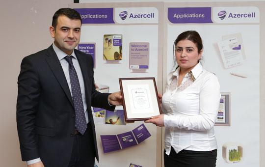Azercell ən yaxşı satıcıları mükafatlandırdı