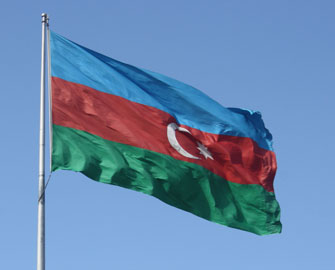 Ümüd Burnunda Azərbaycan bayrağı