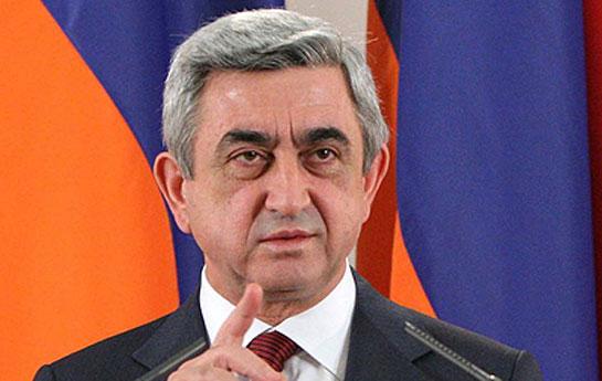 Sarkisyan 13 dəfə Azərbaycana gəlib
