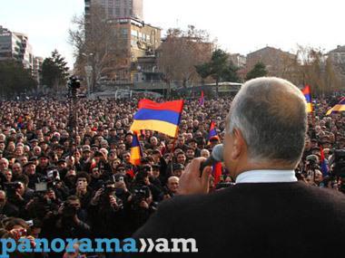 Ermənistanda hadisələr qızışır