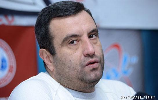 Ermənistan prezidentliyinə namizəd həbs olundu