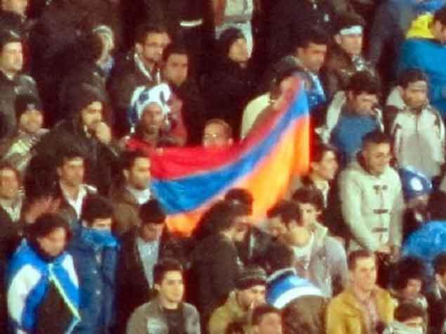 İranda Ermənistan bayrağı qaldırıldı - <font color=red>Foto</font>