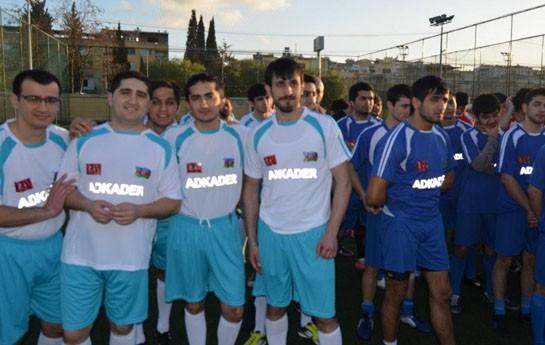 Azərbaycanlılar Türkiyədə futbol turniri keçirir - <font color=red>Fotolar</font>