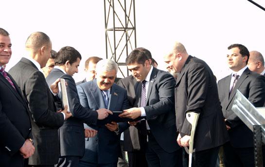 """""""Akkord"""" Gürcüstanda infrastruktur layihələri həyata keçirir"""