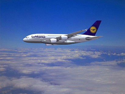"""""""Lufthansa"""" Azərbaycana reyslərinin sayını artırır"""