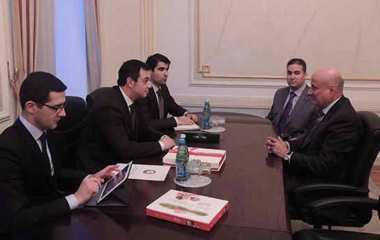 Elşad İskəndərov İSESCO-nun Baş direktoru ilə görüşdü