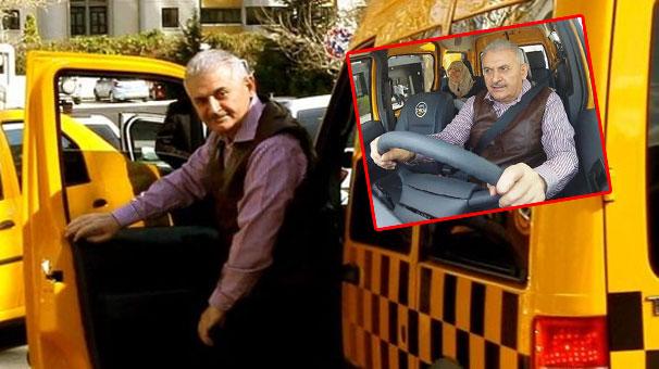 Türkiyədə nazir taksi sürdü - <font color=red>Foto</font>