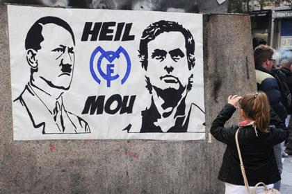 Hitlerlə Maurinyo bir arada