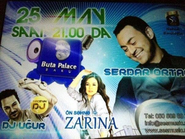Zarina Sərdarın səhnəsində