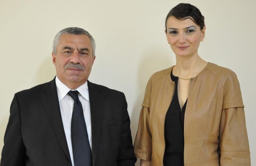 Qənirə Paşayeva Gürcüstan deputatı ilə görüşdü